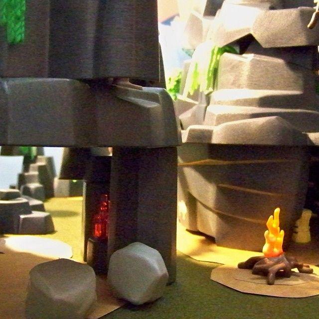 As grutas de Lascou-se ... Onde os Homos se reuniam em banquetes ... #stoneage #bonecorama #playmobil