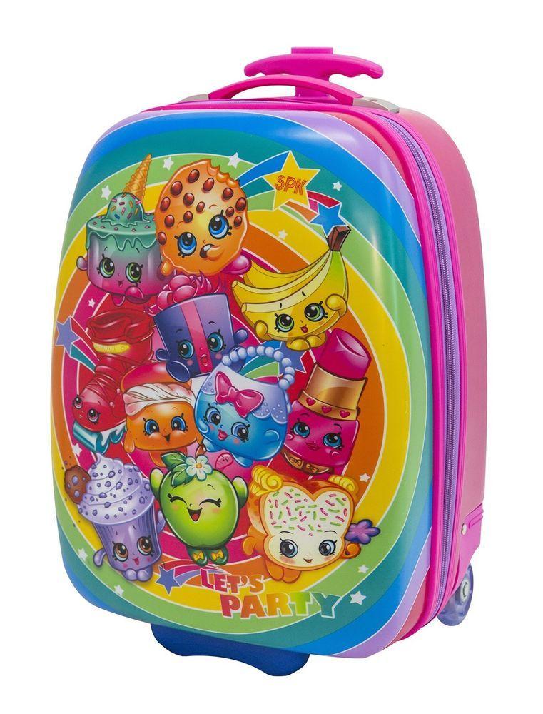 ae64684baeb3 eBay #Sponsored Moose Girls Shopkins Hard Shell Rolling Backpack ...