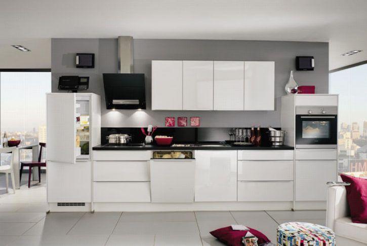 Keukenloodsnl - Vicarello #rechtekeuken Deze moderne keuken is - küchen selber bauen