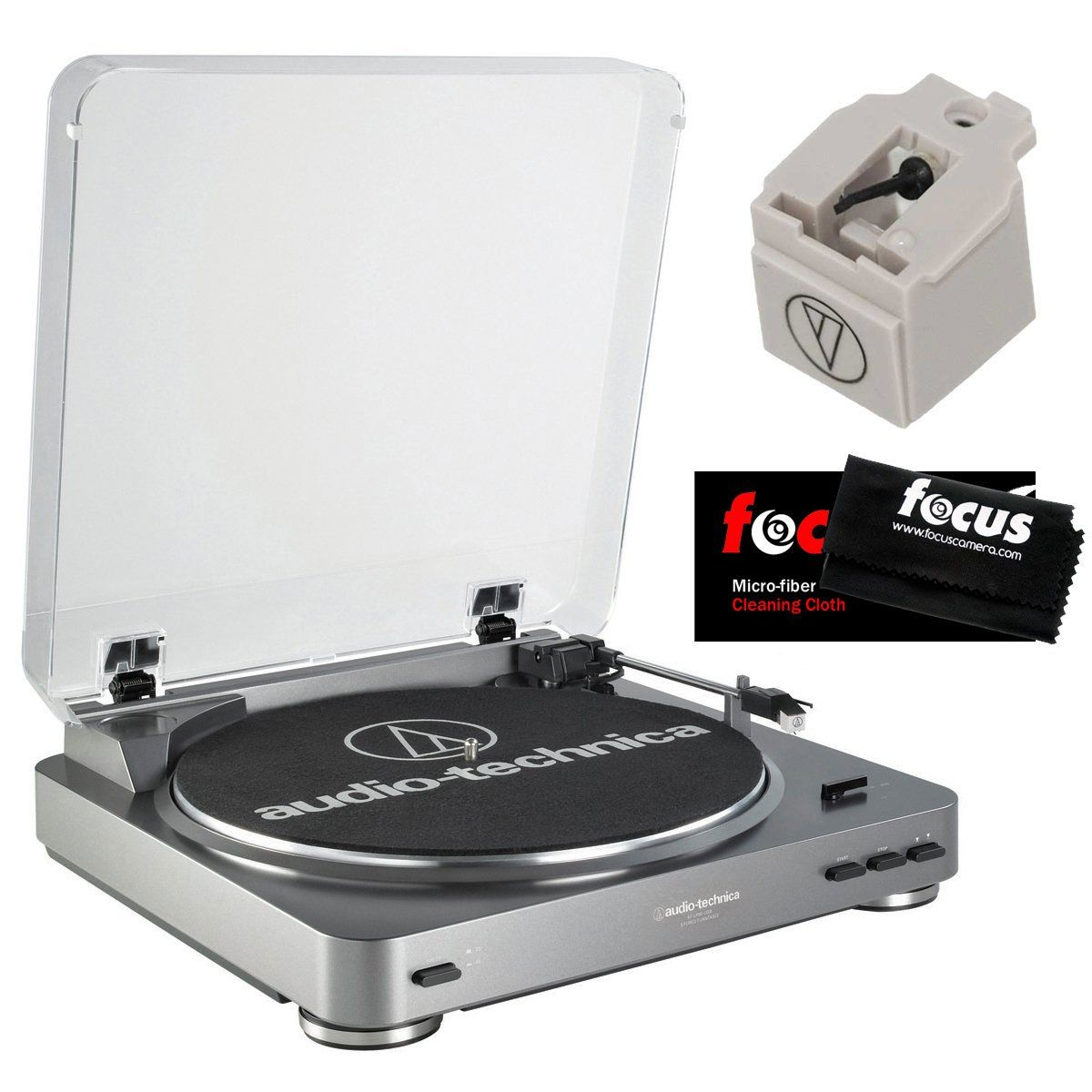 Amazon Com Audio Technica At Lp60usb Fully Automatic Belt Driven Turntable With Usb Port Audio Technica Atn3600l Replace Turntable Audio Technica Belt Drive