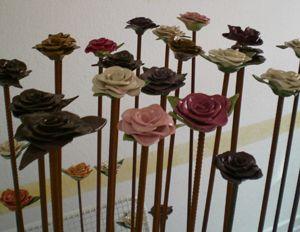 Rosen- Roses handmade by www.kathrinsgarten.de