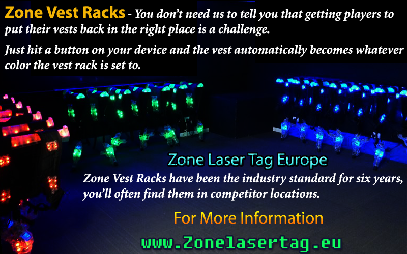 Zone Laser Tag Vests Are Multilayer Design With Clips Around The Front Is More Laser Tag Laser Tags