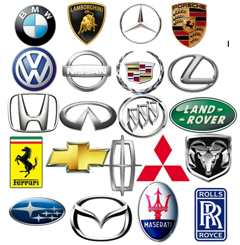 Car Logos And Names Cars Pinterest Car Logos Cars And - Car sign with names