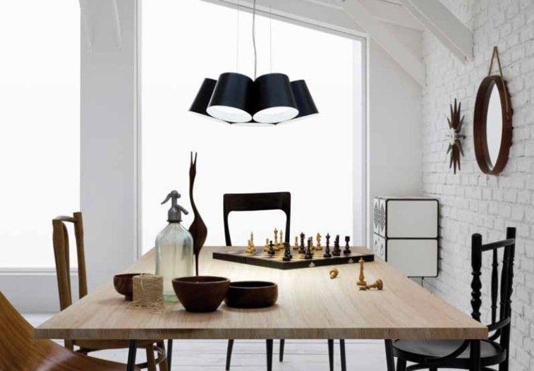 Amak 7 light LED Suspension Design Lighting Pinterest