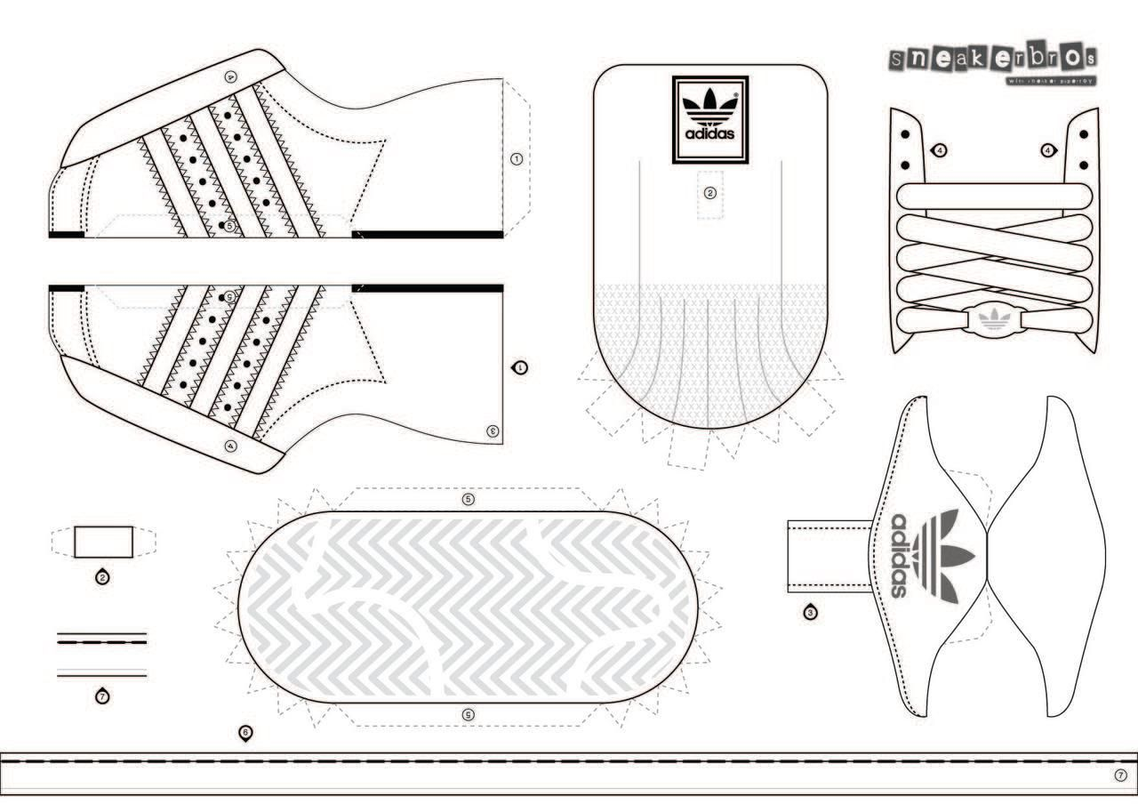 image about Sneaker Template Printable titled Pin by means of Kim Colasante upon paper sneakers Shoe template, Paper