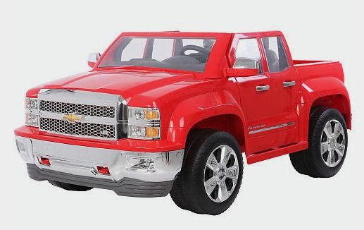 Rollplay Chevy Silverado 12 Volt Powered Ride On Red Rollplay
