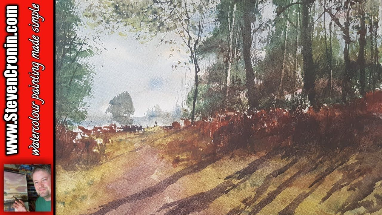 How To Repair A Rubbish Foreground In Watercolour Watercolor
