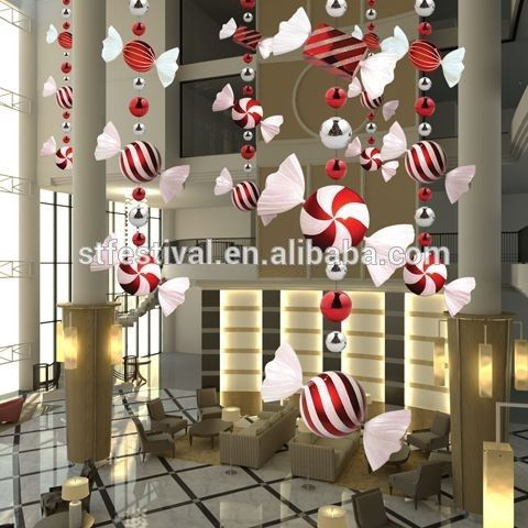 Outdoor Christmas Decorations Candy Canes Pleasing Source 2015 Polyfoam Candy Mall Christmas Decoration On Malibaba Design Ideas