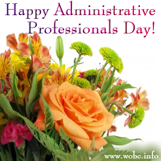 Happy Administrative Professionals Day 3 Administrative Professional Day Administrative Professional Admin Day