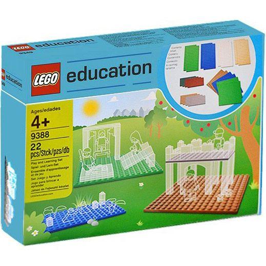 Đồ chơi LEGO Education 9388 Small Building Plates Set – Bộ các tấm nền