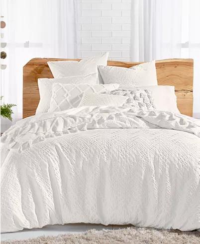 Lucky Brand Taos Cotton 3 Pc Matelasse Full Queen Duvet Cover Set Created For Macy S Reviews Duvet Covers Bed White Bed Set Dorm Bedding White Bedding White queen duvet cover set