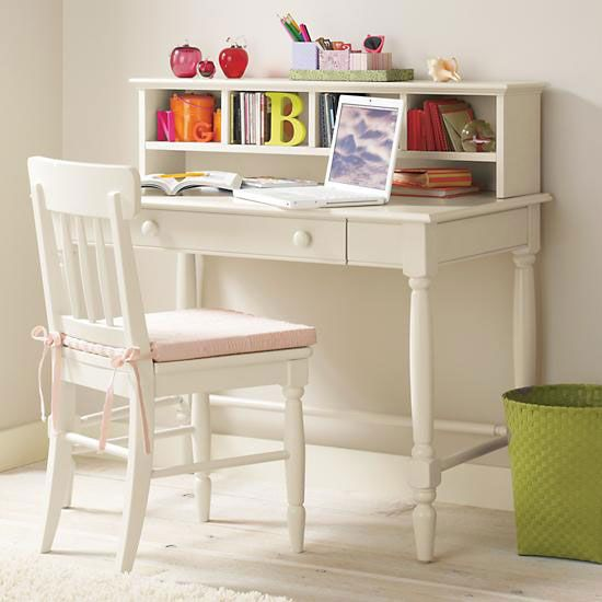Decorating A Girl S Bedroom Style At Home White Kids Desk Girls White Desk Girl Desk