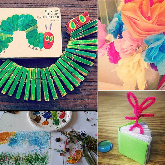 15 Easy And Creative Kid Crafts All From Instagram Easy Crafts