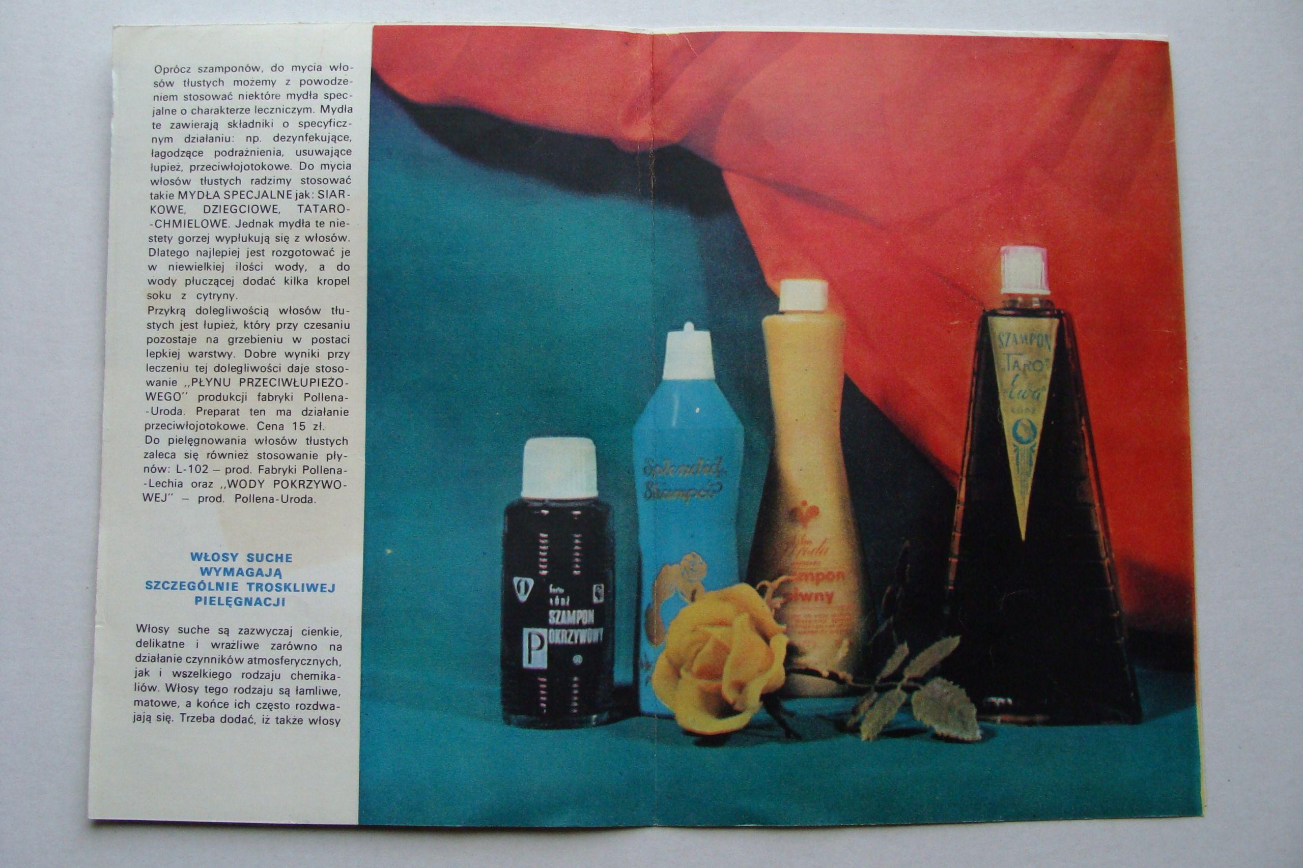 Prl Pollena Szampony Stara Broszura Reklamowa 7723292799 Oficjalne Archiwum Allegro Painting