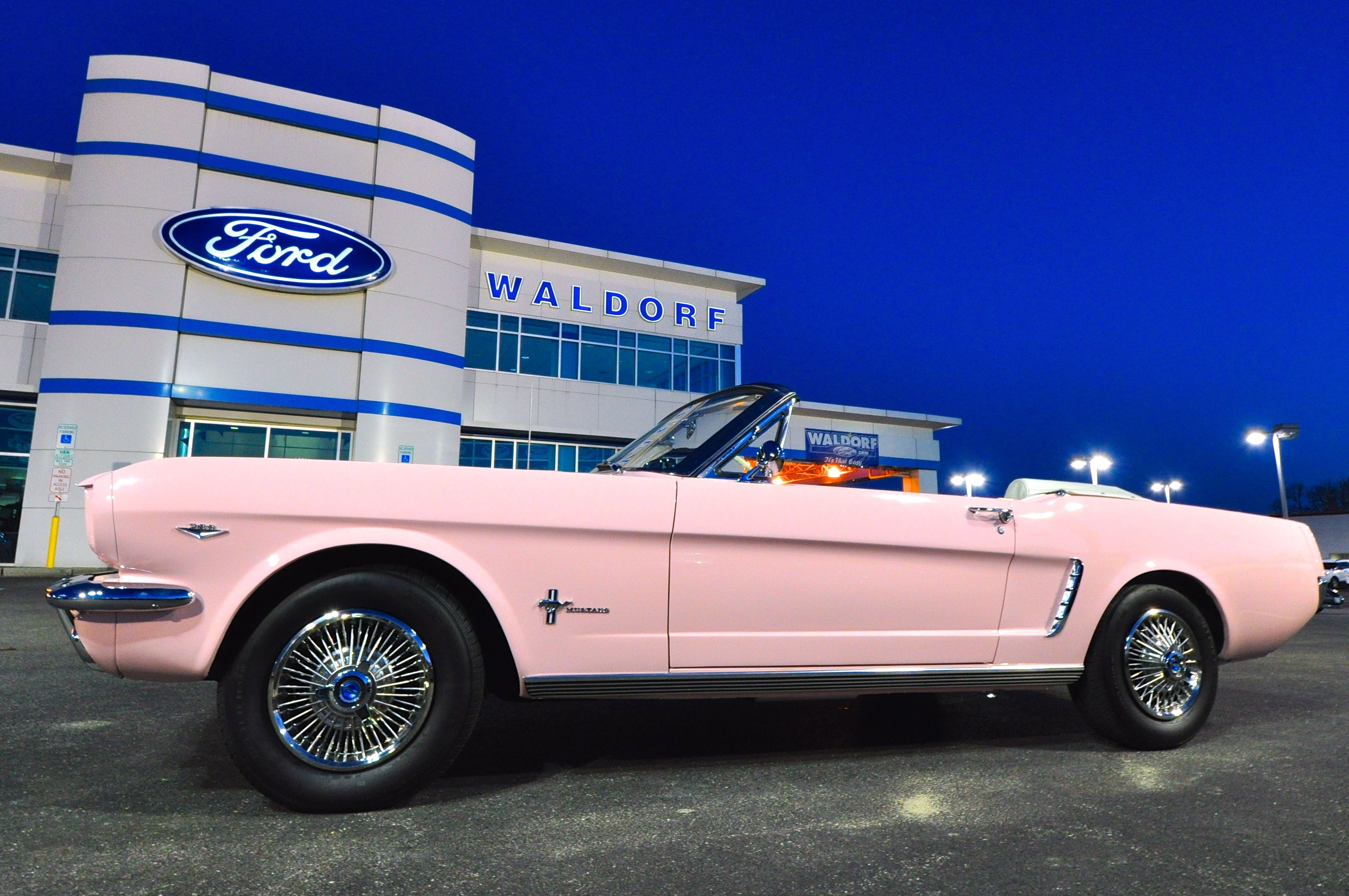 Original 1965 playmate pink color pink mustangs information news and more
