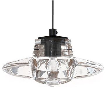 Tom Dixon Pressed Glass Lens Pendant Modern Pendant Lighting Vertigo Home Llc