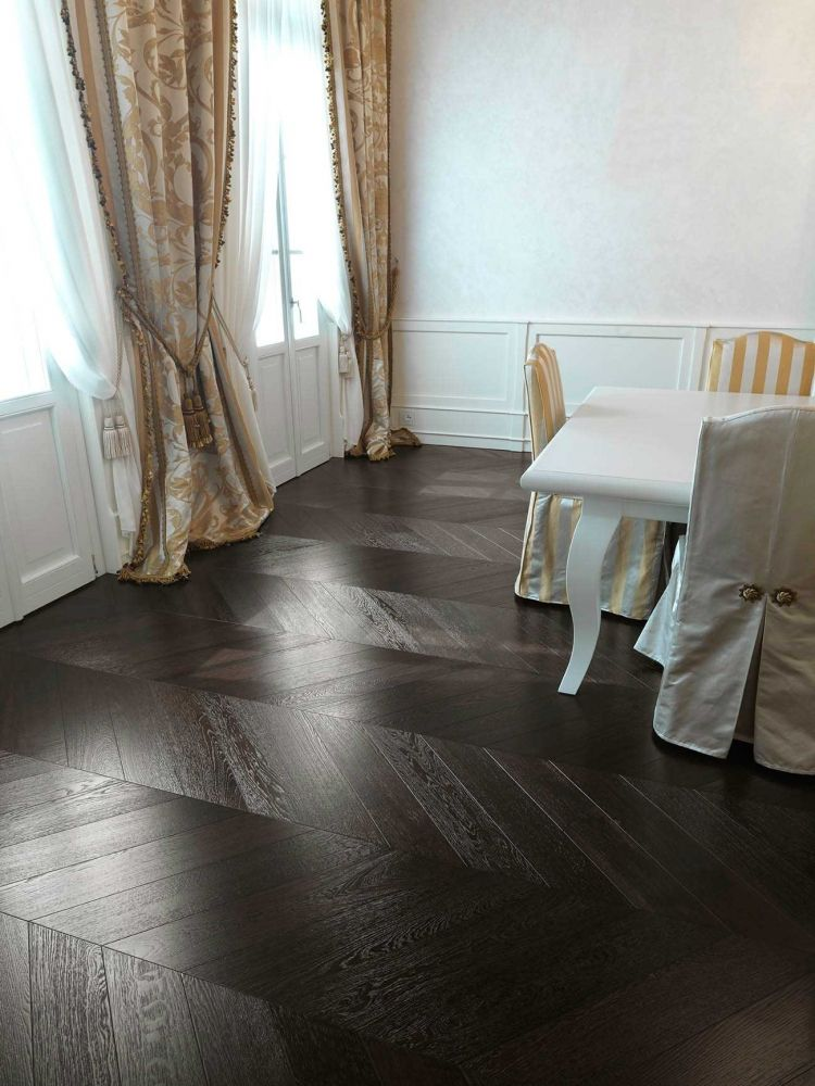 Wenge Engineered Chevron Parquet Hicraft Wooden Flooring Ltd A