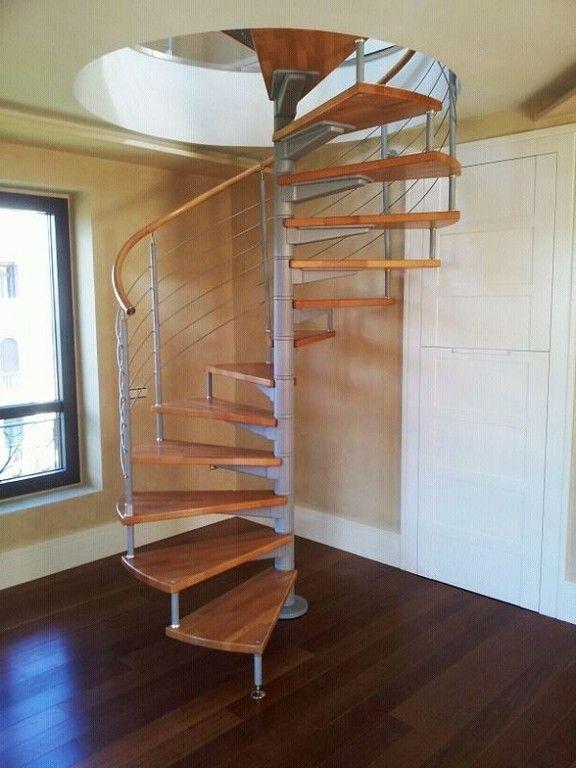 Escalera caracol madera MS-ESC050 | Taller | Pinterest | Escalera ...
