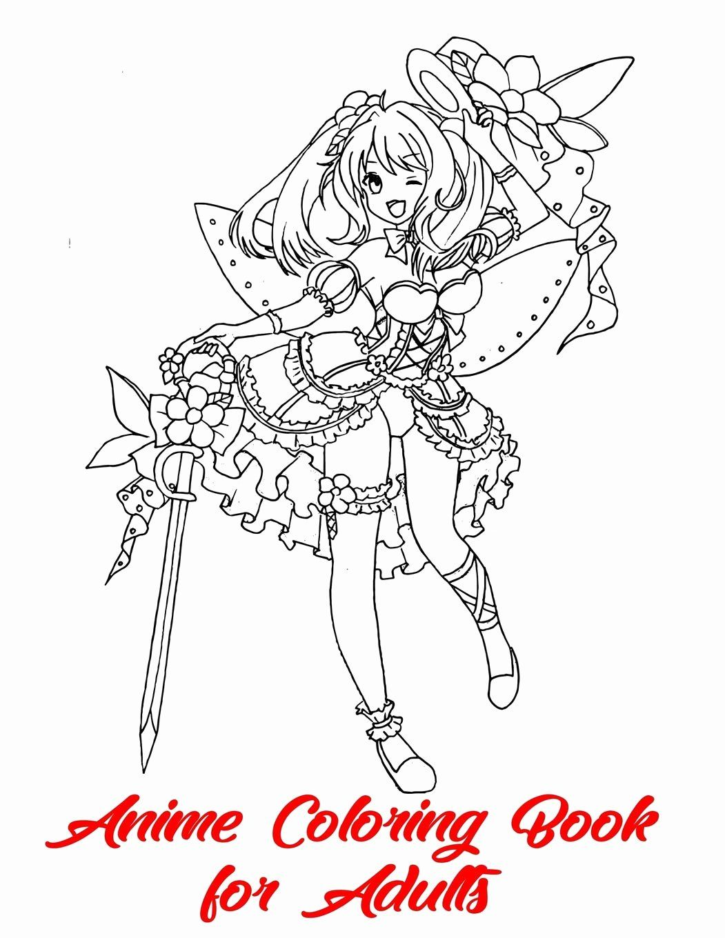Anime Coloring Books For Adults Fresh 71d4u4c Vwl Coloring Sheetsme Book Amazon For Adults