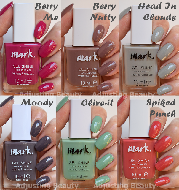 Review of Avon Mark Gel Shine Nail Enamel - 2017 Fall Collection ...