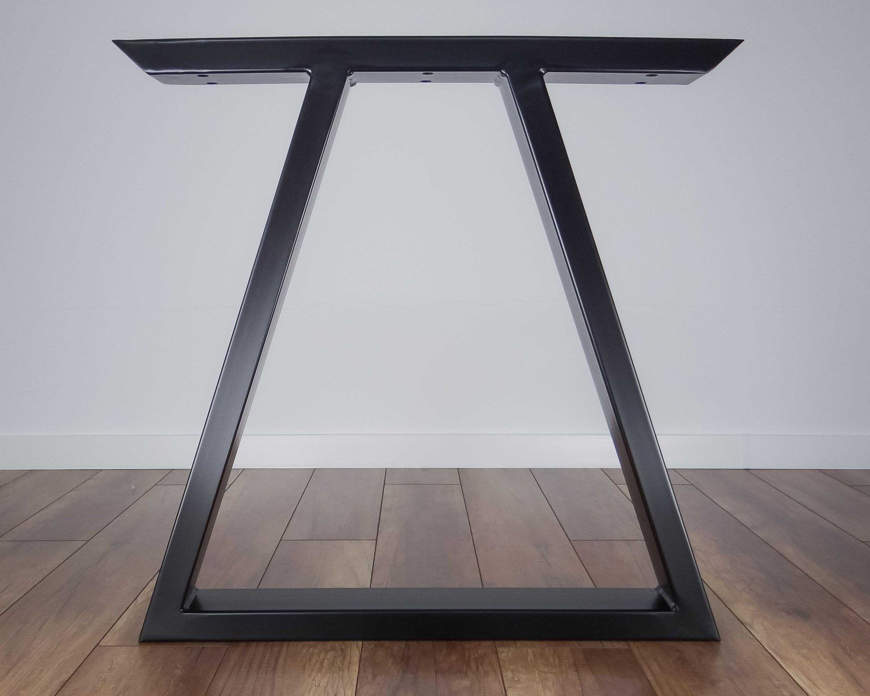 Metalen Eettafel Poten Set Van 2 Driehoek Vorm Moderne Stalen
