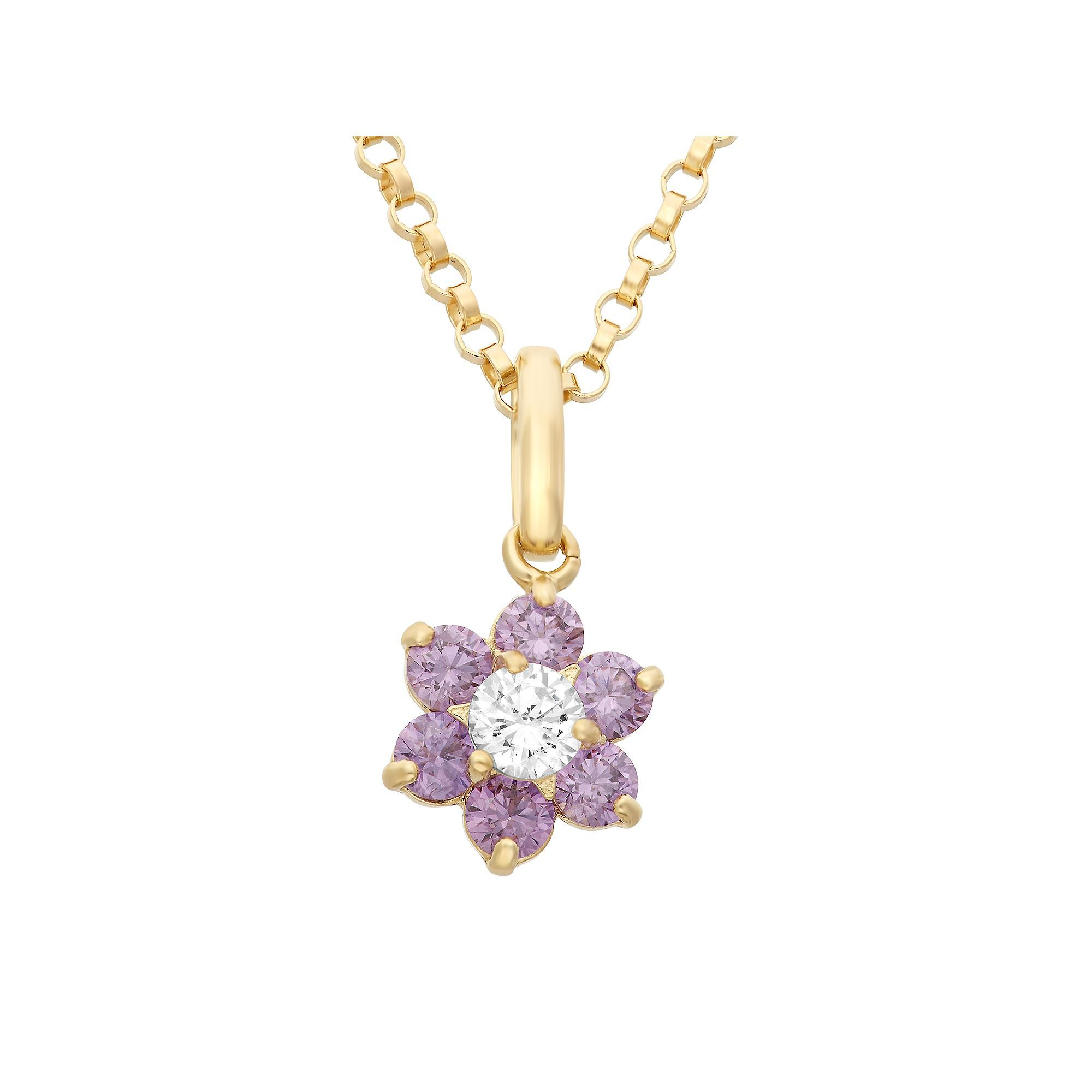 flower gold pendant grams product inspired set necklace indian carat