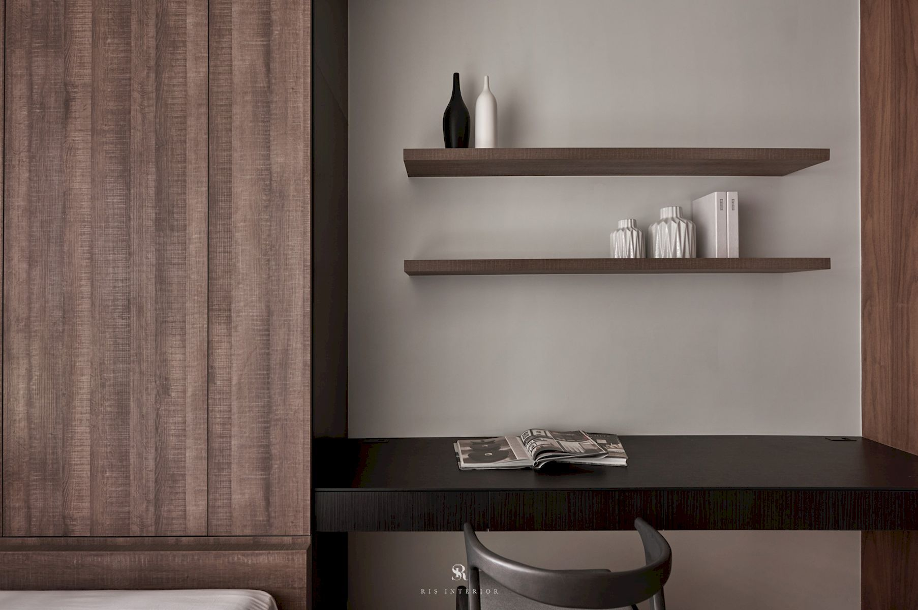 Nook, Reading Room, Home Library, Home Office Ideas And Inspiration Styles:  Asian