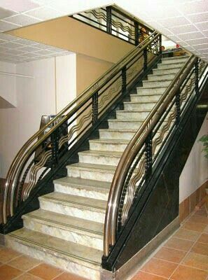 High Quality Pin By Imran Malik On Stairs Relling | Pinterest | Art Deco, Staircases And  Deco Interiors