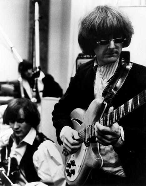 Image result for roger mcguinn playing guitar byrds