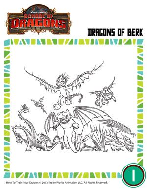 Dragons Of Berk Coloring Page For Kids Dragon Coloring Page How