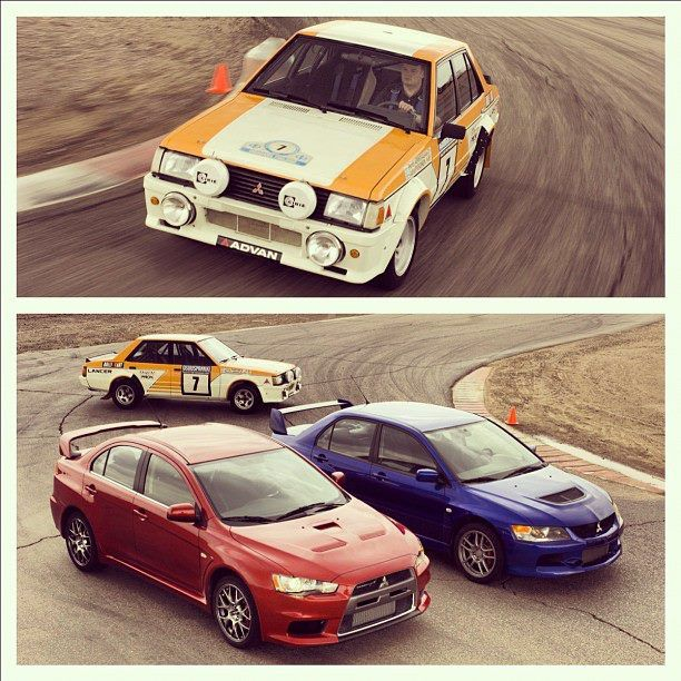 1980s Lancer Evolution! | Mitsubishi motors, Mitsubishi ...