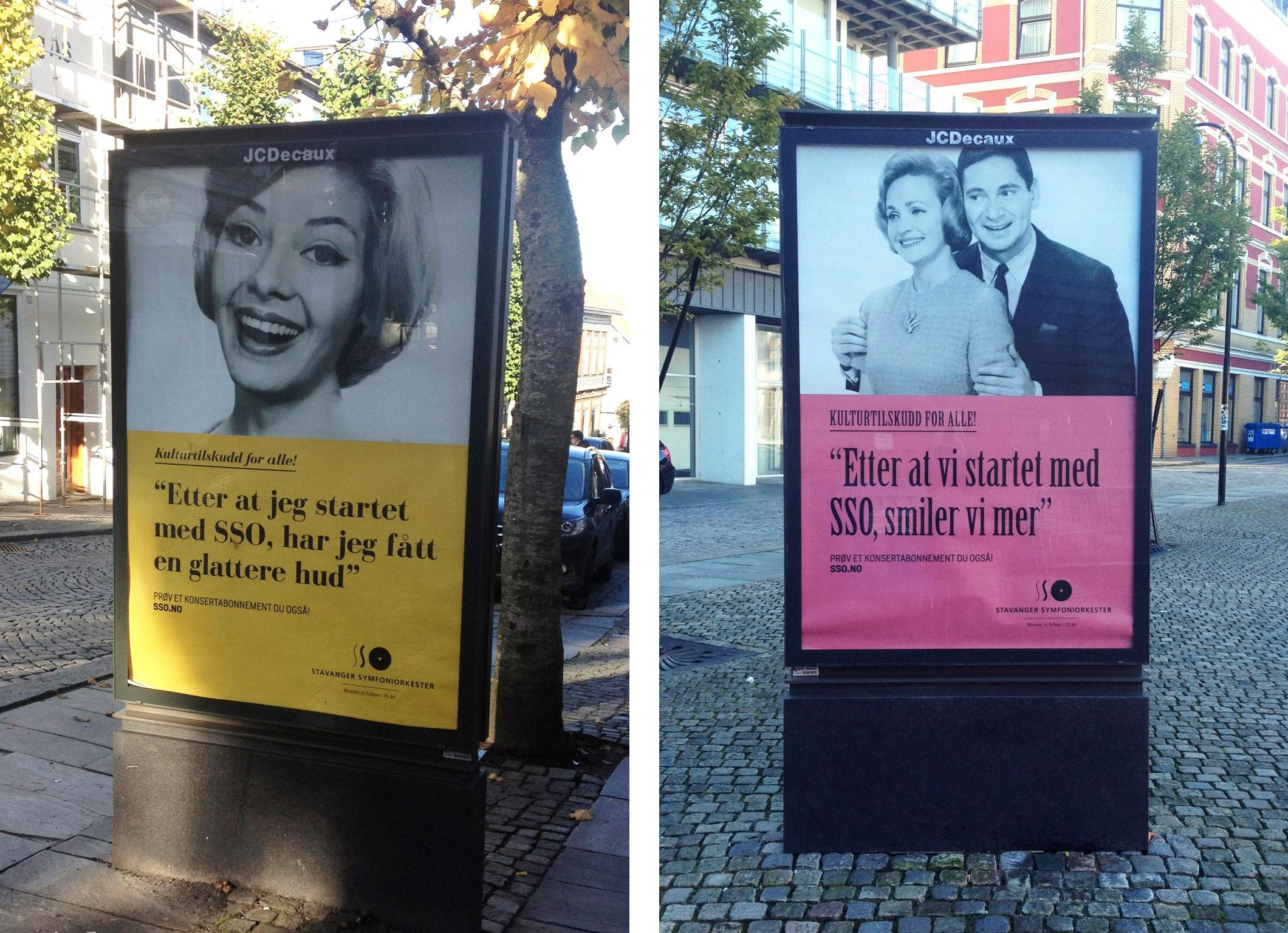 Stavanger Symfoniorkester Poster and Billboard Campaign | #melvaeroglien - See more of our #design work at → m-l.no