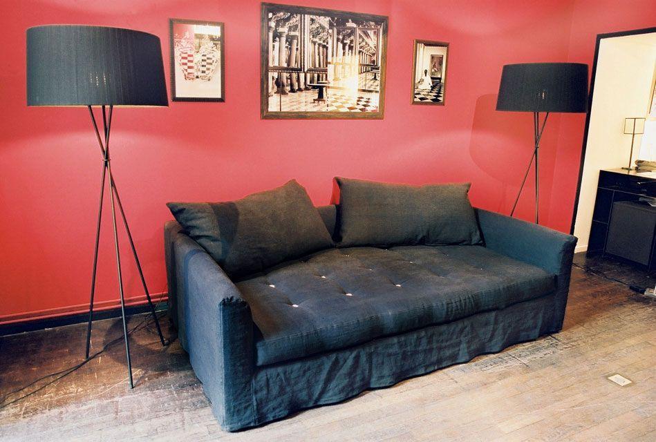 hand lyon et caravane canap lit thala 140 caravane. Black Bedroom Furniture Sets. Home Design Ideas