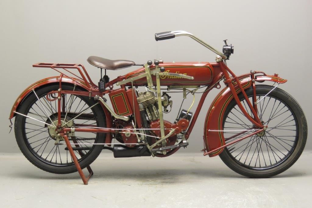 Indian 1918 W 18 550cc 1 Cyl Sv 2708 Yesterdays Classic Motorcycles Indian Motorbike Motorcycle