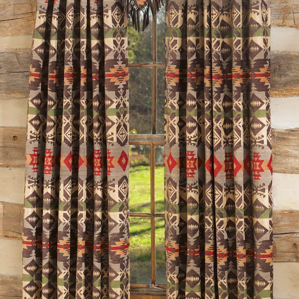 Montana Sky Drapes Curtains Window Treatments Western Curtains Dream Cottage