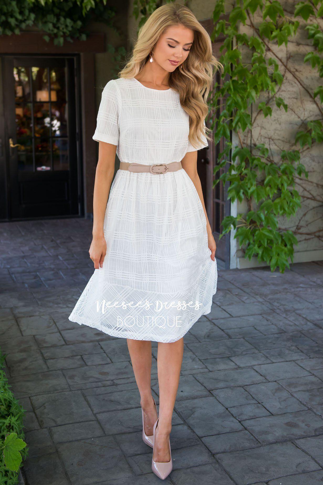 White Lace Overlay Dress Modest Dress Best Place To Buy Modest Dress Online Modest Dresses And Skirts Neesees Dresses Lace Overlay Dress Fitted Lace Dress [ 1850 x 1231 Pixel ]