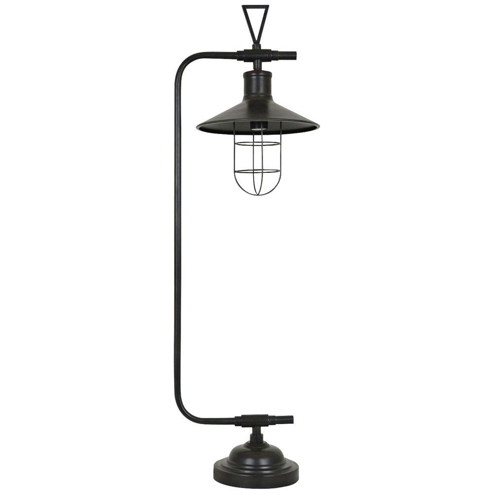 Crestview Collection Melbourne Antique Bronze Table Lamp Style