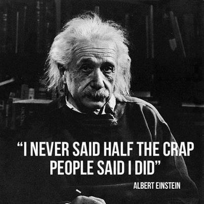 Einstein famous quote