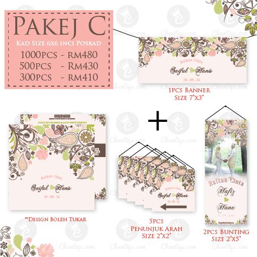 Pakej Kad Kahwin Tempah Sekarang Harga Borong Kad Kahwin Invitation Cards Cards