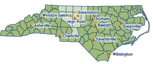 Regional Map High Point Pinterest High point and Regional