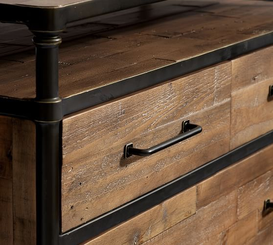 juno reclaimed wood dresser potterybarn