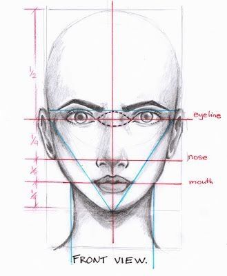 Drawing proportions facial proportions draw faces fashion illustrations illustration fashion face drawings how to draw facials the face