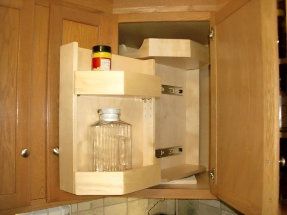 Best Glide Around In Upper Cabinet Corner Cabinet Solutions 400 x 300