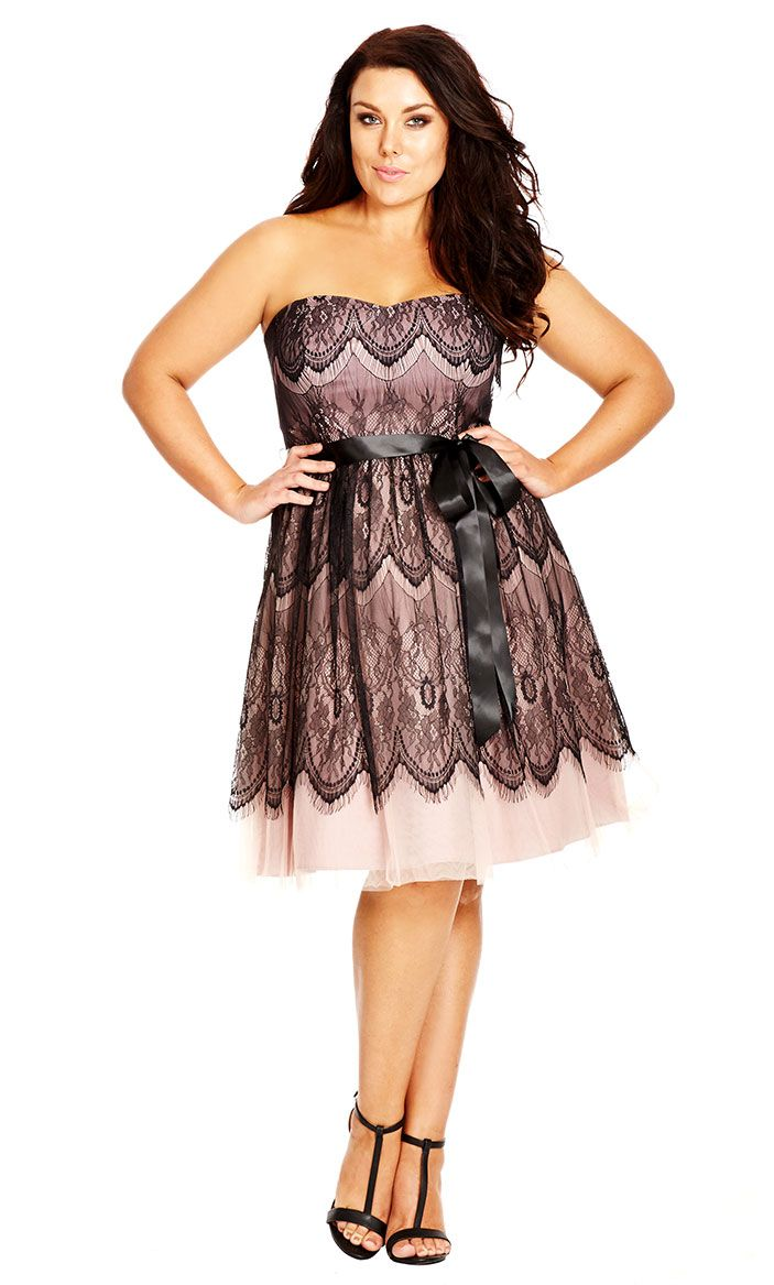 City Chic Wedding Dresses : Sexy dresses pretty playing dress up dusty rose city chic