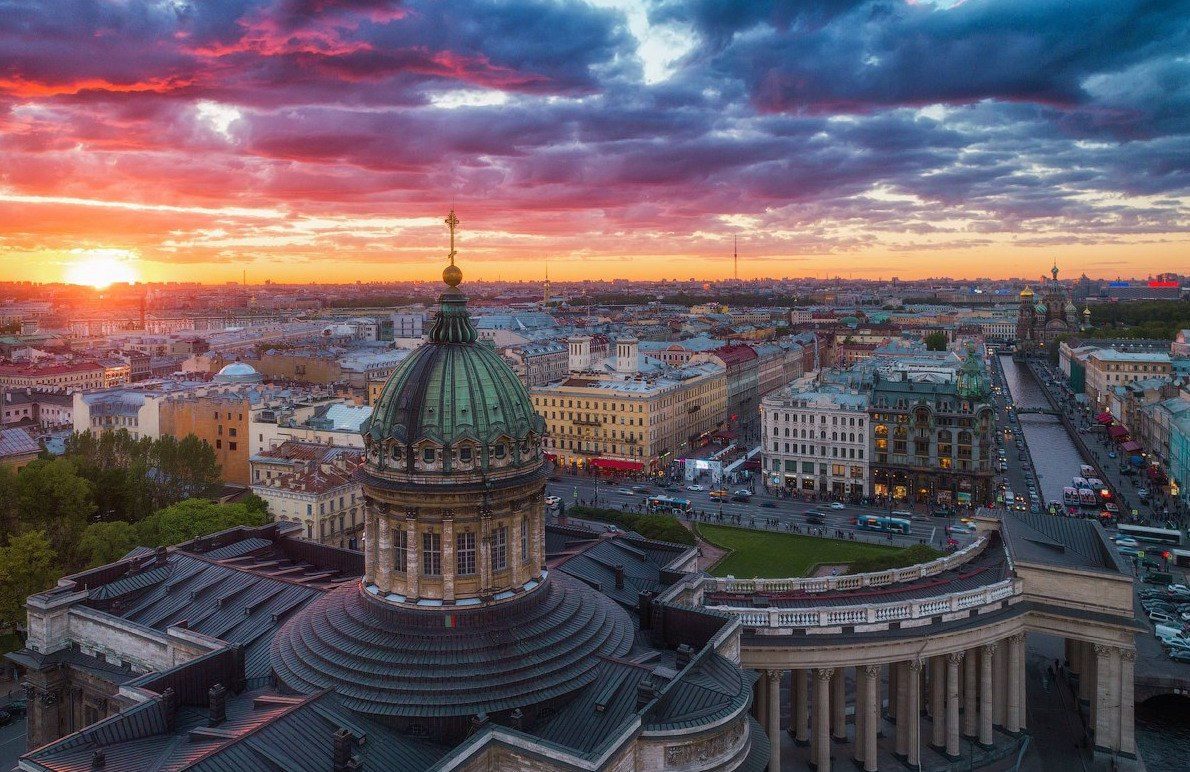 Казанский кафедральный собор. Автор фото: Иван Смелов ...