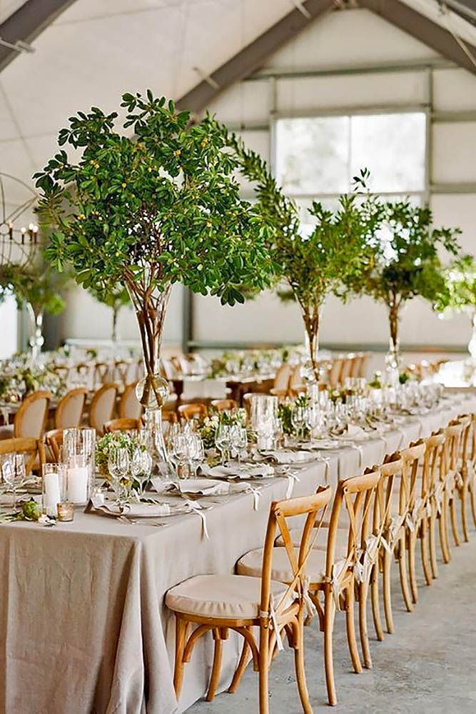 42 Rustic Wedding Centerpieces Fancy Ideas   Green wedding ...