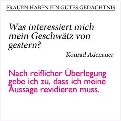 Wie Frauen Beruhmte Zitate Sagen Wurden Deutschlands Erster
