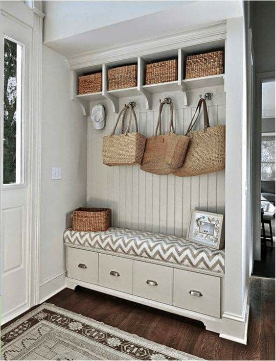 Pin by Sherry Allnutt on Entry Ideas Pinterest - photo hall d entree maison