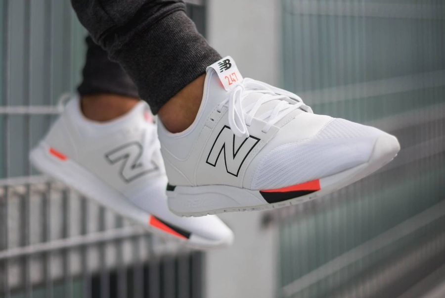 New Balance 247 Classic White Black   Addidas chaussures homme ...