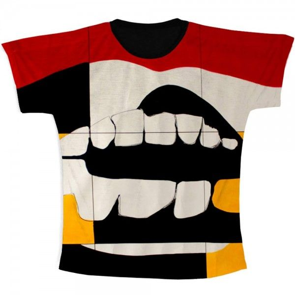 T-Shirt Full Print RED - Vera Pamplona